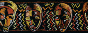 african-mask-border